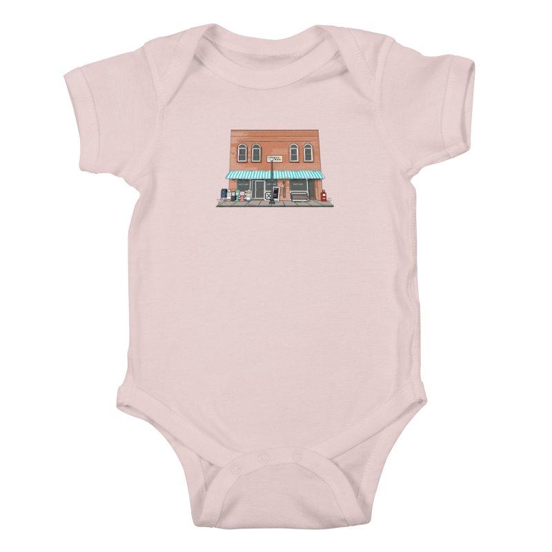 City Cafe Kids Baby Bodysuit by VisualChipsters