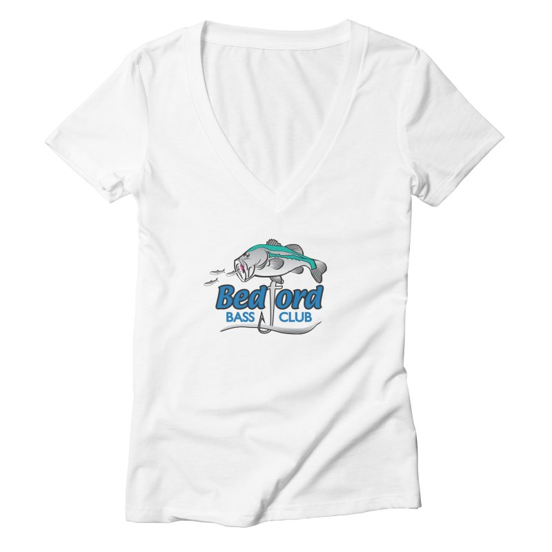 Bedford Bass Club Women's V-Neck by VisualChipsters