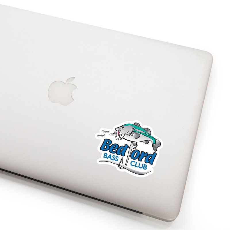 Bedford Bass Club Accessories Sticker by VisualChipsters