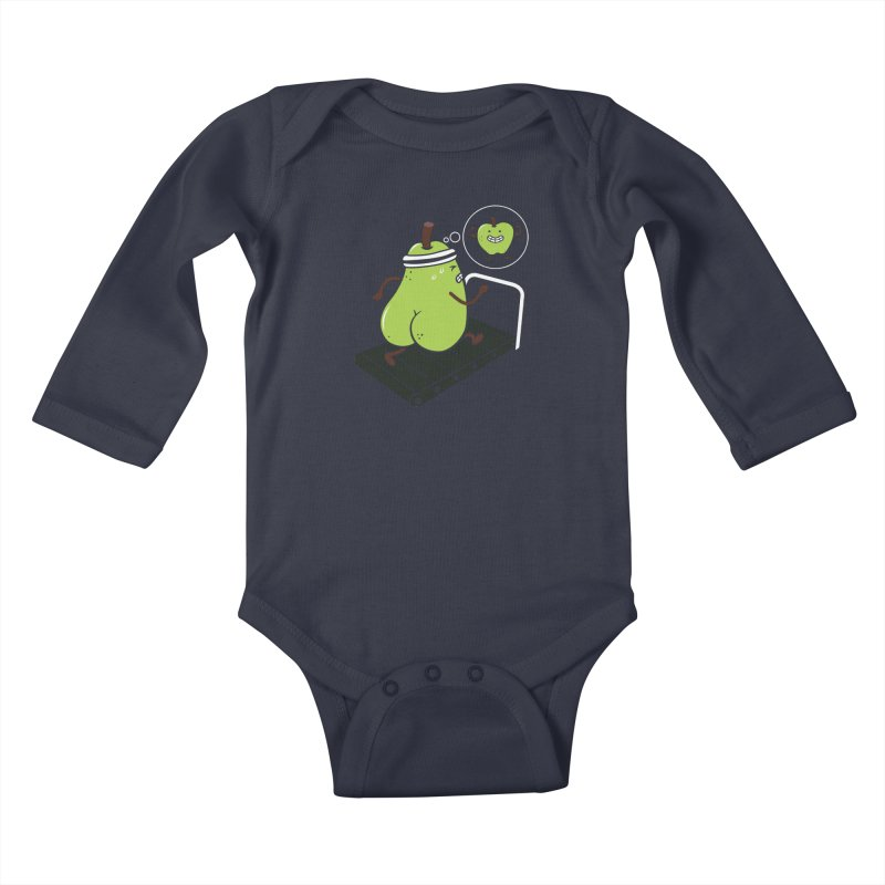 MOTIVATION Kids Baby Longsleeve Bodysuit by vitaliyklimenko's Artist Shop