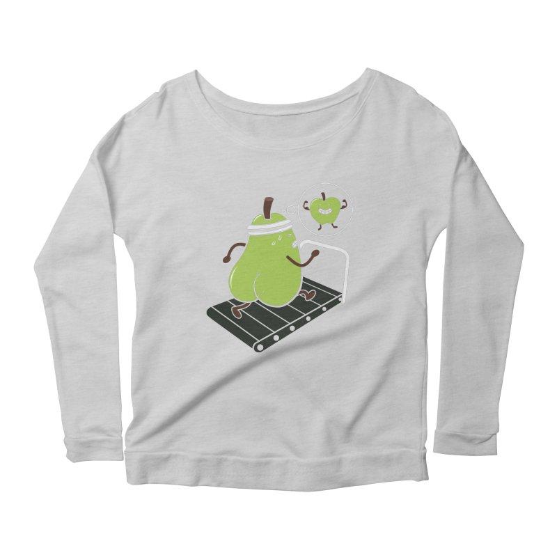 MOTIVATION Women's Scoop Neck Longsleeve T-Shirt by vitaliyklimenko's Artist Shop