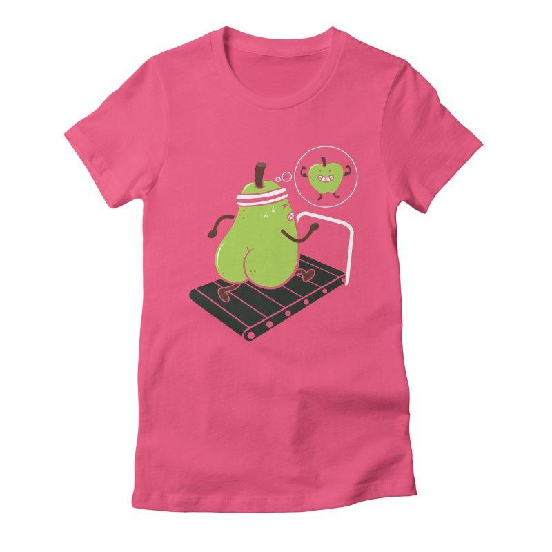 MOTIVATION Women's Fitted T-Shirt by vitaliyklimenko's Artist Shop