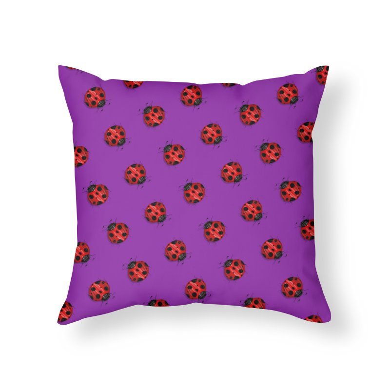 Covered In Ladies Home Throw Pillow by Viva La Doves's Artist Shop