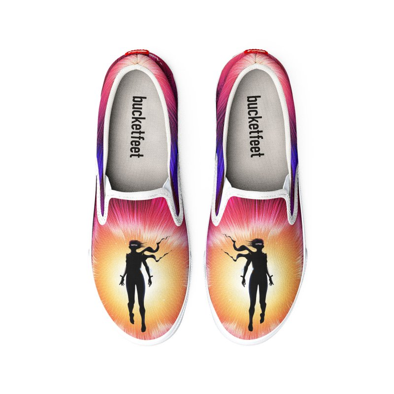 Hero Volume 1 Women's Shoes by vivun's Artist Shop