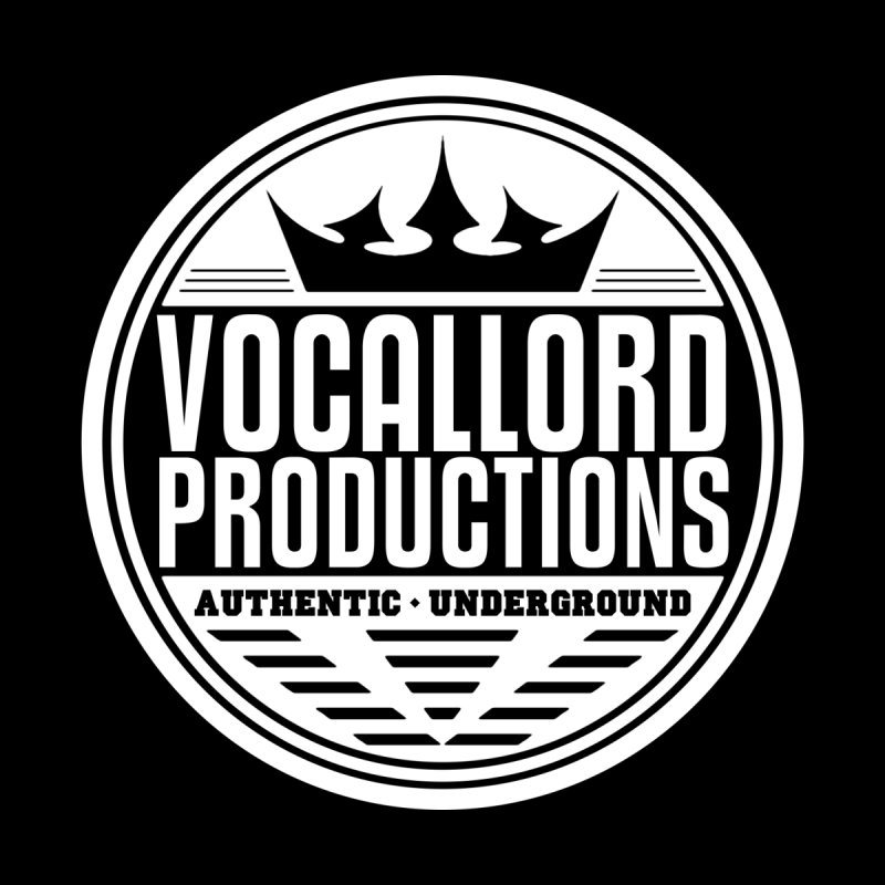 VocalLord Productions - Authentic Underground - White Logo Accessories Skateboard by The VLP Vault