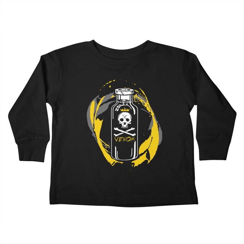 Venom Kids Toddler Longsleeve T-Shirt by The VLP Vault