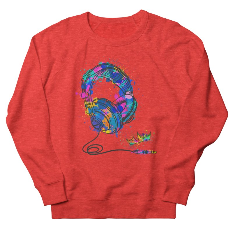 Headphones Women's Sweatshirt by The VLP Vault