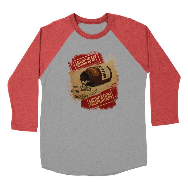 Music Is My Medication Men's Longsleeve T-Shirt by The VLP Vault