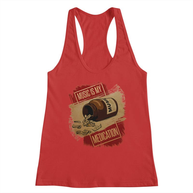 Music Is My Medication Women's Tank by The VLP Vault