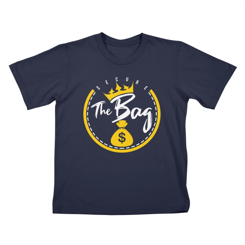 Secure The Bag - Bag Collection & More Kids T-Shirt by The VLP Vault