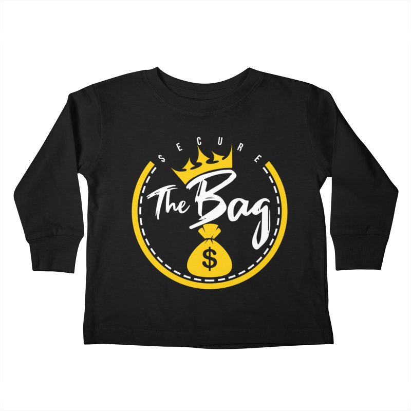 Secure The Bag - Bag Collection & More Kids Toddler Longsleeve T-Shirt by The VLP Vault