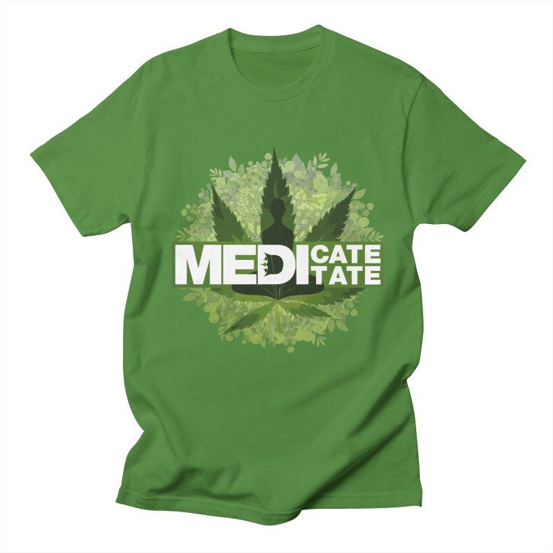 MEDI - Green Men's T-Shirt by The VLP Vault