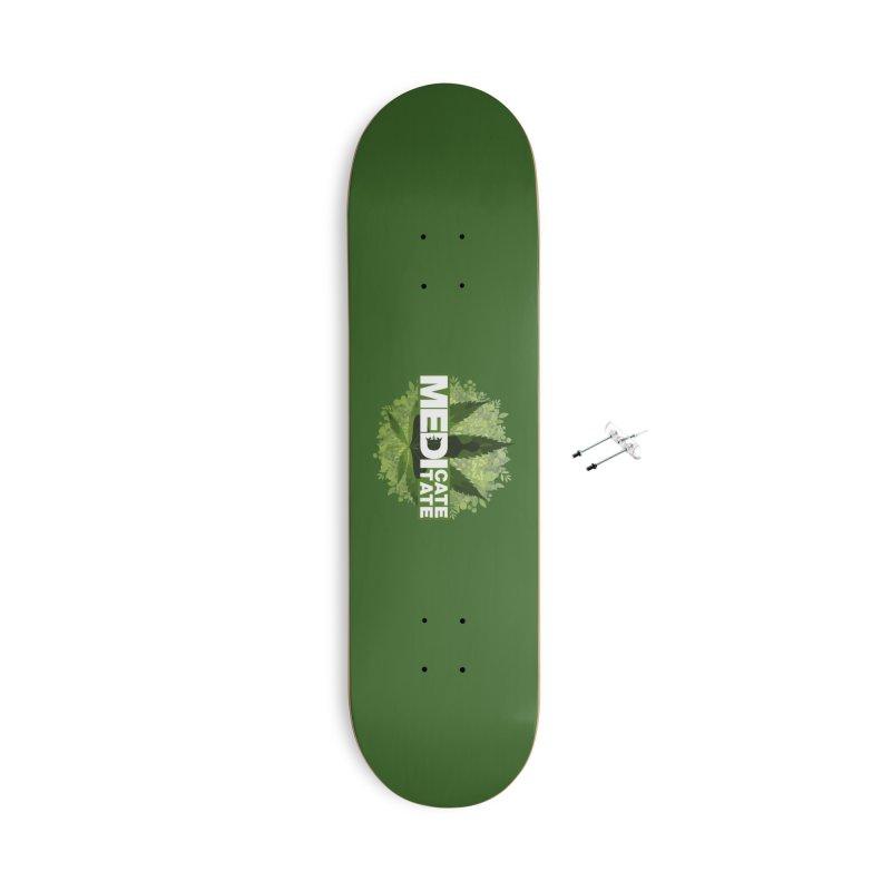 MEDI - Green Accessories Skateboard by The VLP Vault