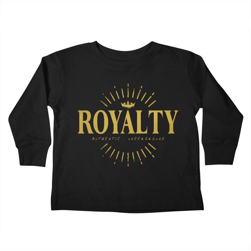 Royalty Kids Toddler Longsleeve T-Shirt by The VLP Vault