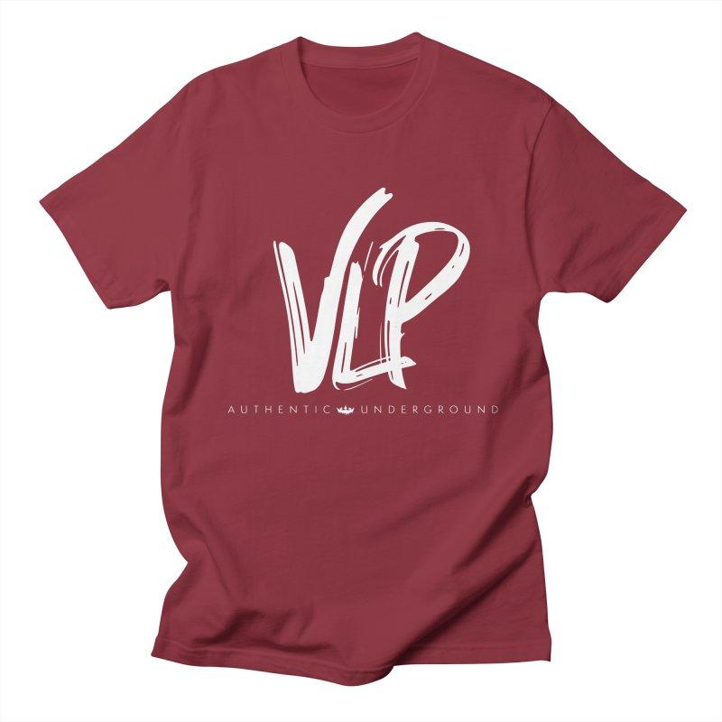 VLP - White Brush Men's T-Shirt by The VLP Vault