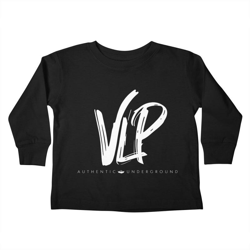 VLP - White Brush Kids Toddler Longsleeve T-Shirt by The VLP Vault