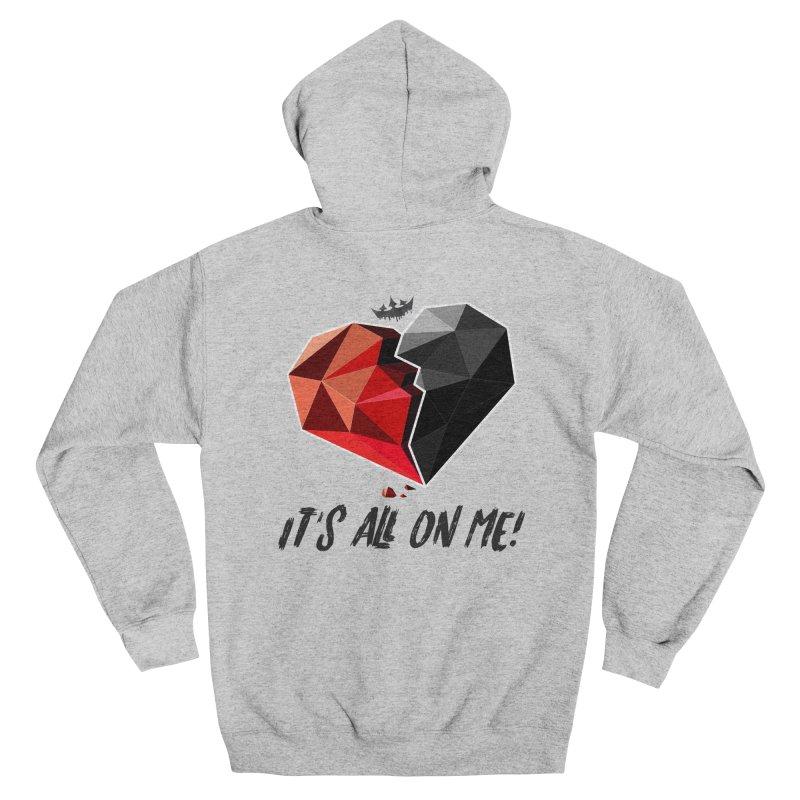 All On Me Men's Zip-Up Hoody by The VLP Vault