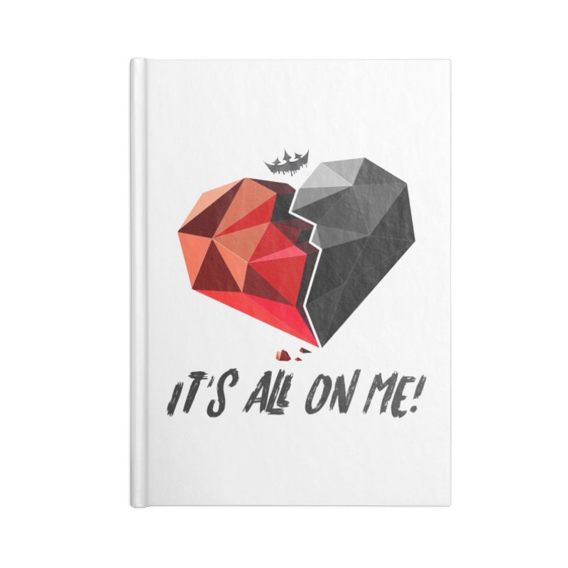 All On Me Accessories Notebook by The VLP Vault
