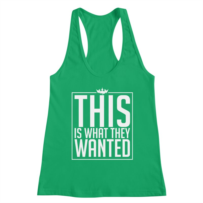 What They Wanted Women's Tank by The VLP Vault