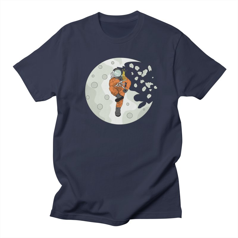 Space Drinkin Men's T-shirt by Olsen & Sons