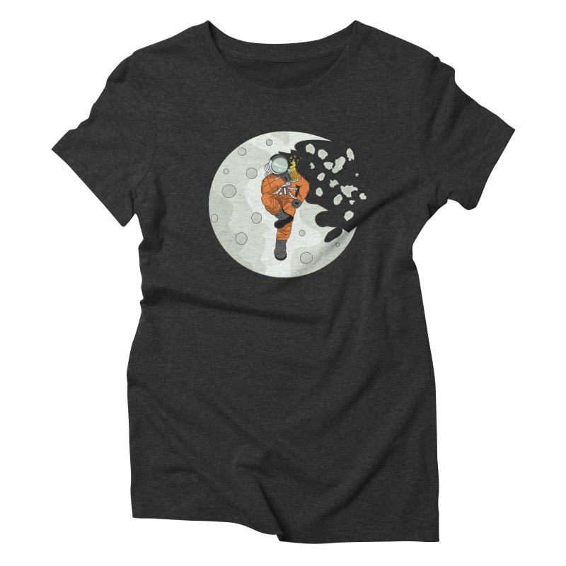 Space Drinkin Women's Triblend T-Shirt by Olsen & Sons