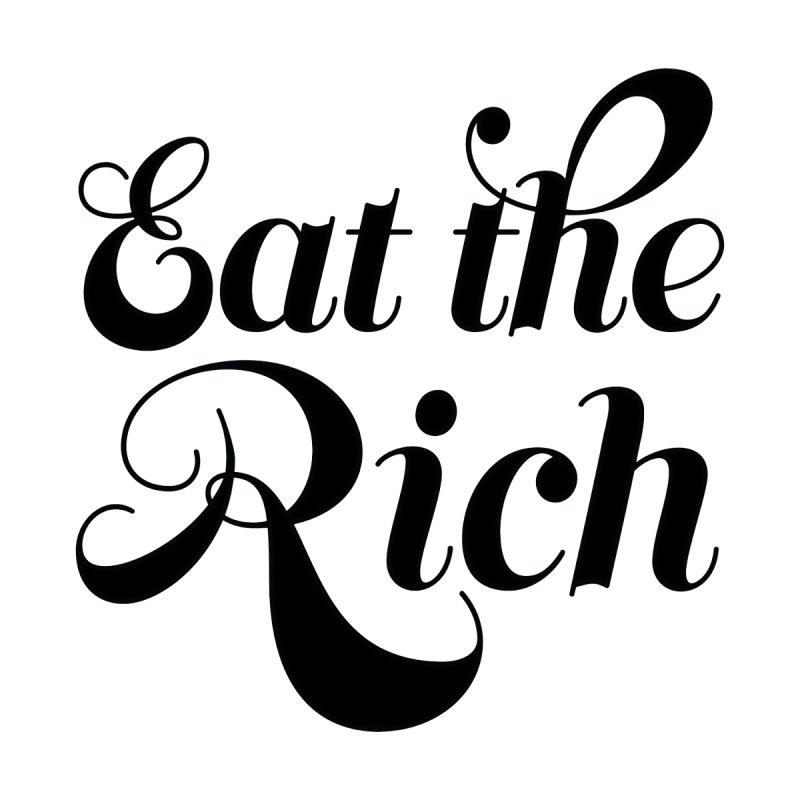 Eat the Rich (Ishii x Voidmerch) blk by VOID MERCH
