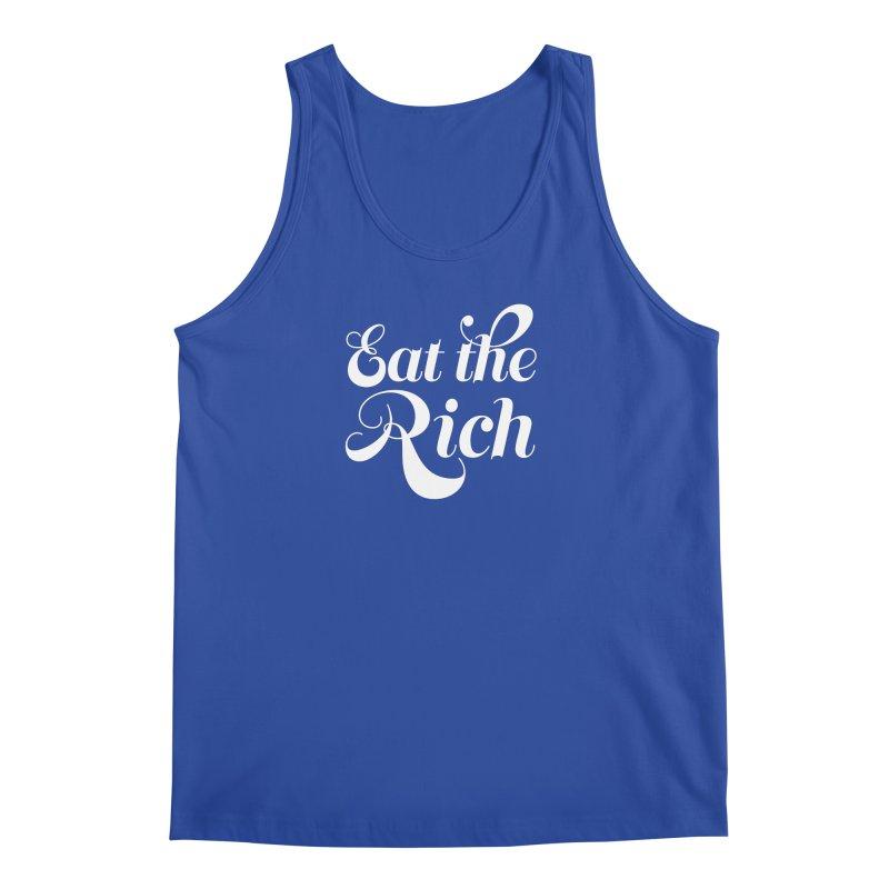 Eat the Rich (Ishii x Voidmerch) wht Men's Regular Tank by VOID MERCH
