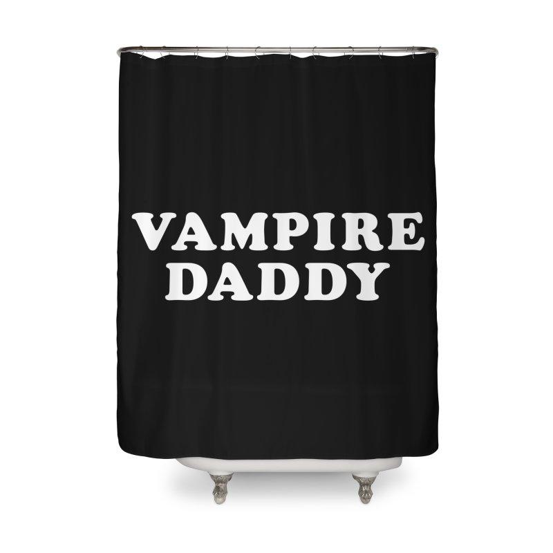 Vampire Daddy (wht) Ishii x Voidmerch Home Shower Curtain by VOID MERCH
