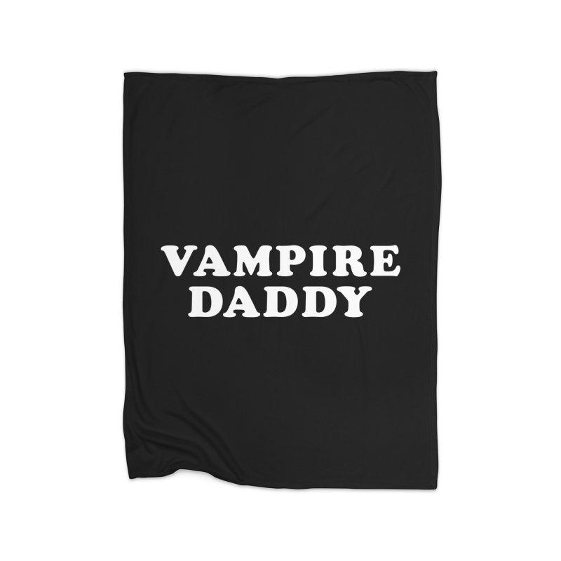 Vampire Daddy (wht) Ishii x Voidmerch Home Fleece Blanket Blanket by VOID MERCH