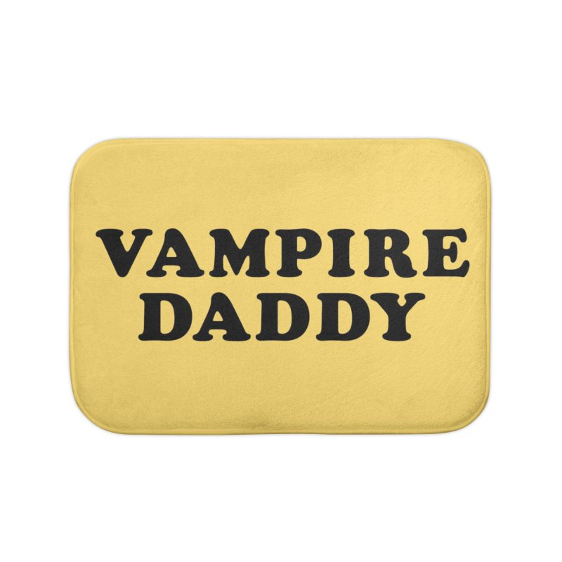 Vampire Daddy (blk) Ishii x Voidmerch Home Bath Mat by VOID MERCH