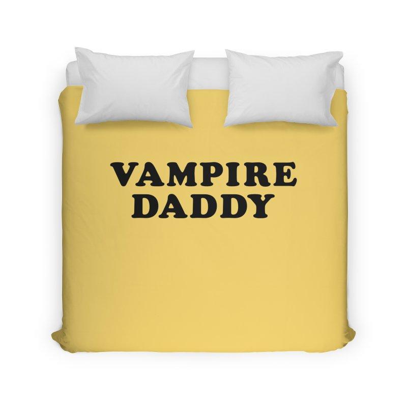 Vampire Daddy (blk) Ishii x Voidmerch Home Duvet by VOID MERCH