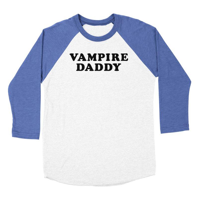 Vampire Daddy (blk) Ishii x Voidmerch Men's Baseball Triblend Longsleeve T-Shirt by VOID MERCH