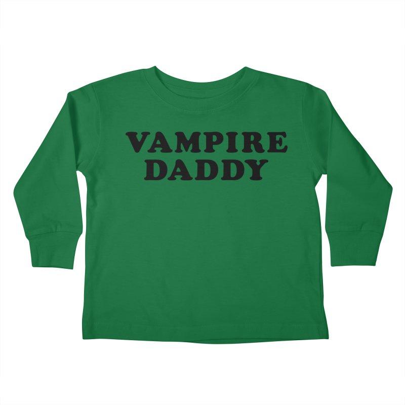 Vampire Daddy (blk) Ishii x Voidmerch Kids Toddler Longsleeve T-Shirt by VOID MERCH