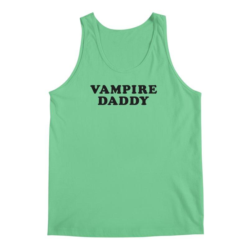 Vampire Daddy (blk) Ishii x Voidmerch Men's Regular Tank by VOID MERCH