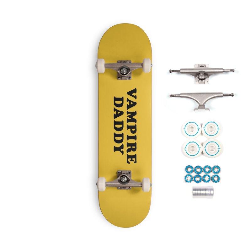 Vampire Daddy (blk) Ishii x Voidmerch Accessories Complete - Basic Skateboard by VOID MERCH