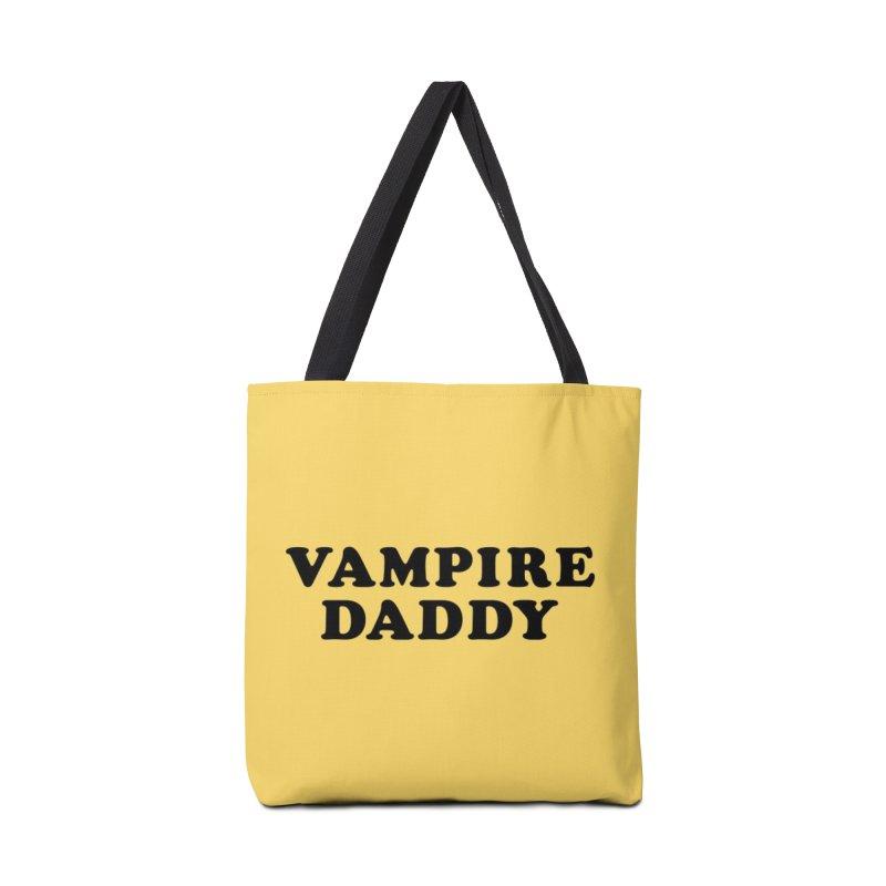 Vampire Daddy (blk) Ishii x Voidmerch Accessories Tote Bag Bag by VOID MERCH