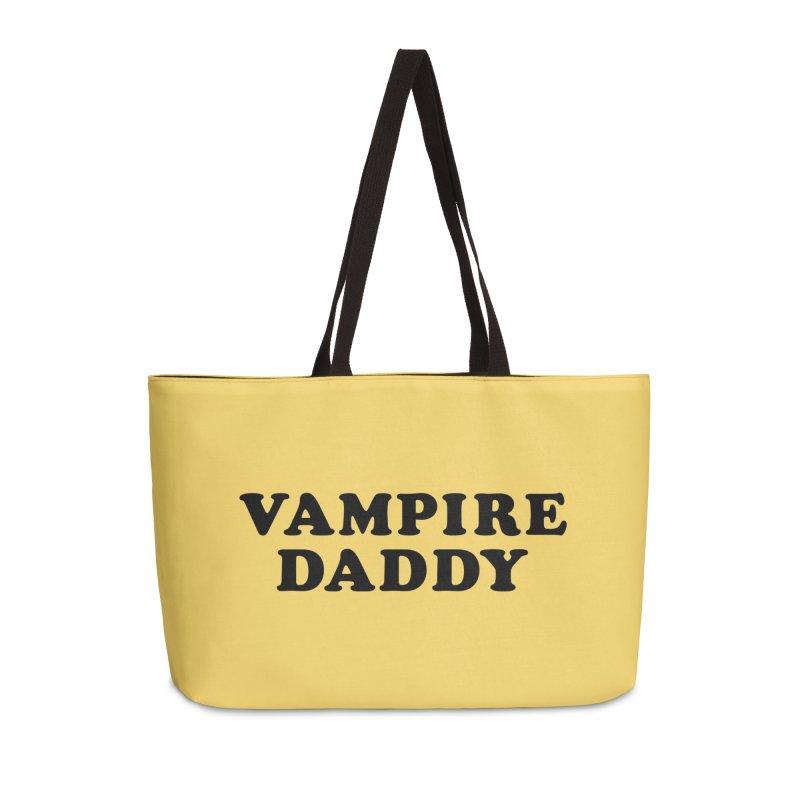 Vampire Daddy (blk) Ishii x Voidmerch Accessories Weekender Bag Bag by VOID MERCH