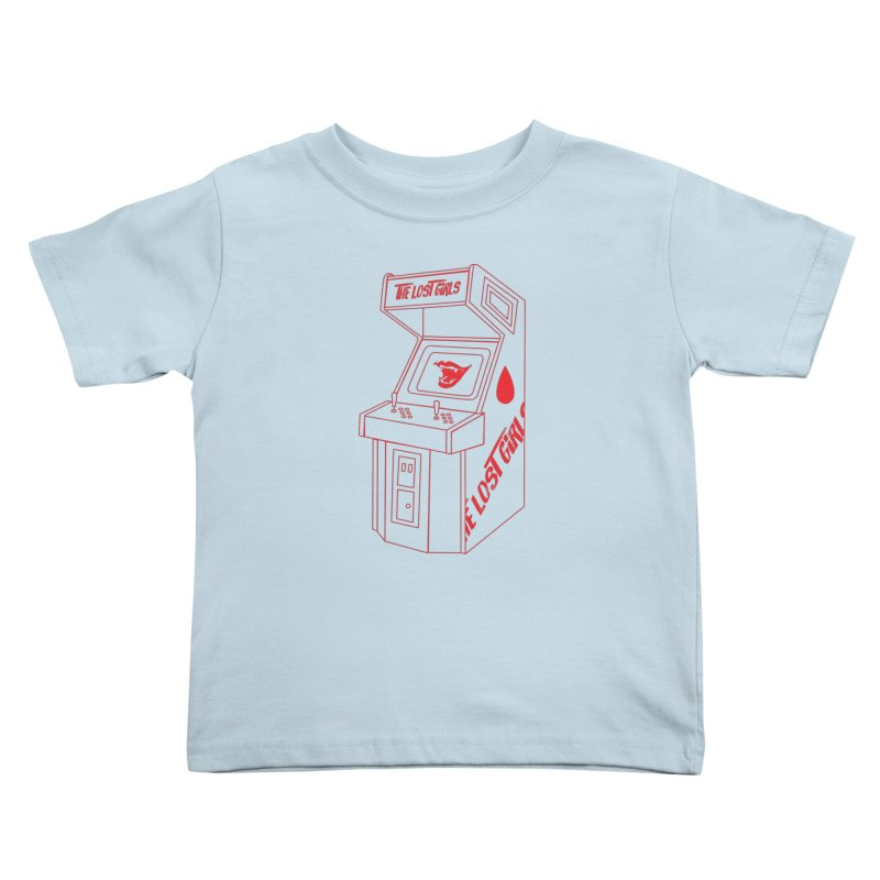LOST GIRLS ARCADE (red) Lost Girls x Voidmerch Kids Toddler T-Shirt by VOID MERCH