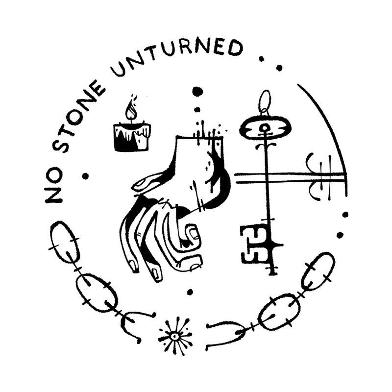NO STONE UNTURNED (blk) Wishbow x Voidmerch Kids Baby Zip-Up Hoody by VOID MERCH