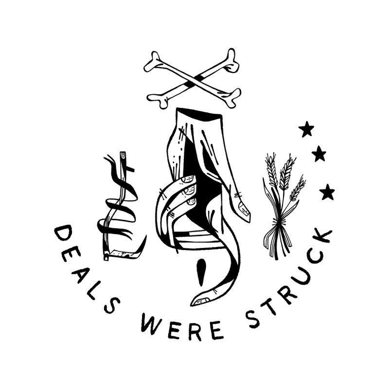 DEALS WERE STRUCK (blk) Wishbow x Voidmerch by VOID MERCH