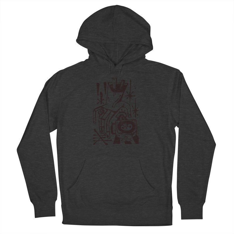 MORNING BREW (blk) Wishbow x Voidmerch Women's French Terry Pullover Hoody by VOID MERCH