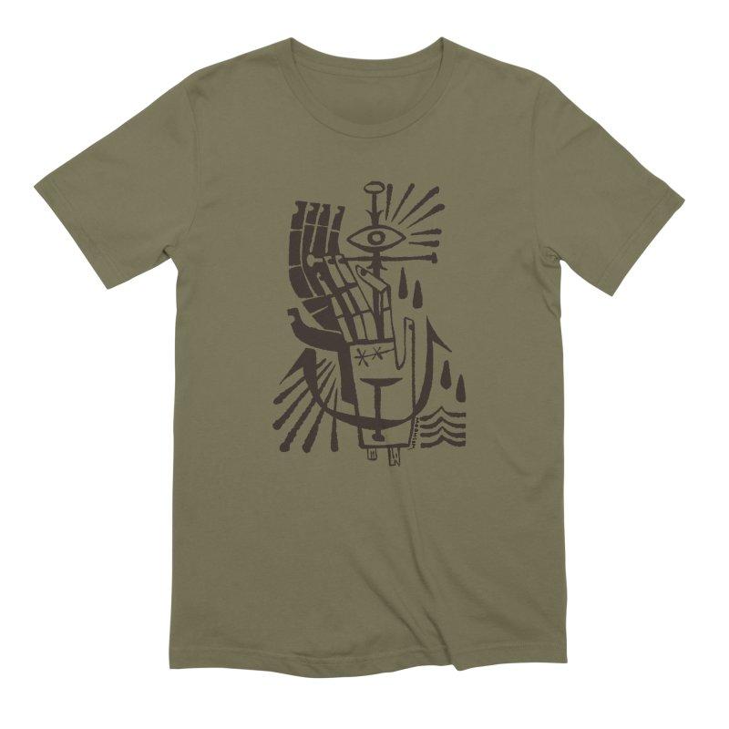 ANCHOR (blk) Wishbow x Voidmerch Men's Extra Soft T-Shirt by VOID MERCH