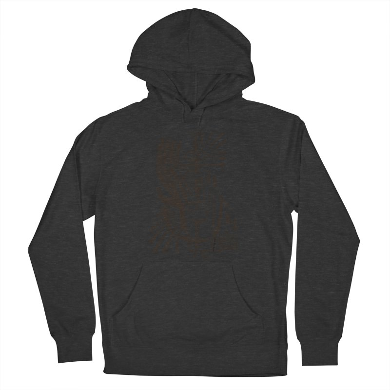 ANCHOR (blk) Wishbow x Voidmerch Men's French Terry Pullover Hoody by VOID MERCH