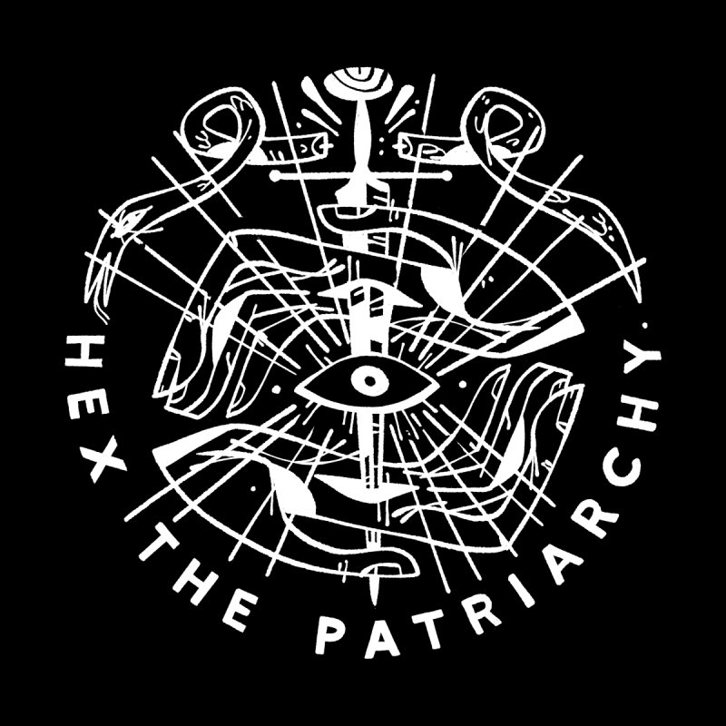 HEX THE PATRIARCHY (wht) Wishbow x Voidmerch by VOID MERCH