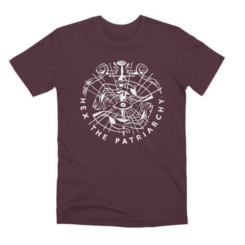 HEX THE PATRIARCHY (wht) Wishbow x Voidmerch Men's Premium T-Shirt by VOID MERCH