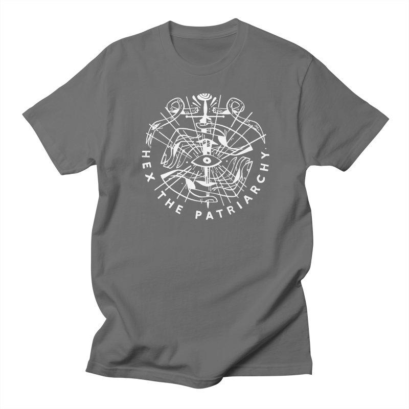 HEX THE PATRIARCHY (wht) Wishbow x Voidmerch Men's Regular T-Shirt by VOID MERCH
