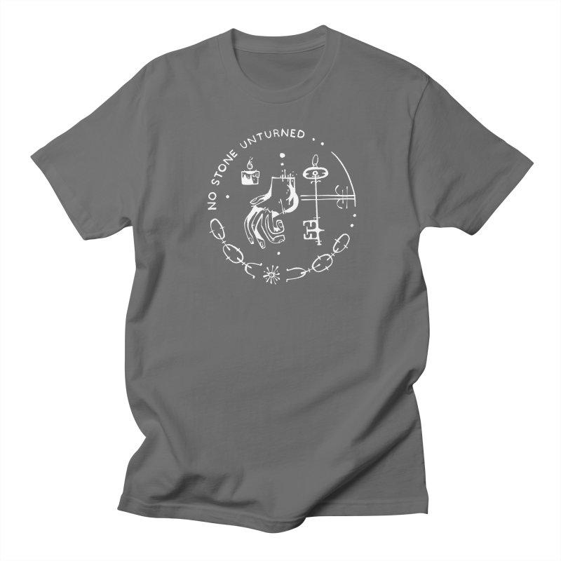 NO STONE UNTURNED (wht) Wishbow x Voidmerch Women's Regular Unisex T-Shirt by VOID MERCH