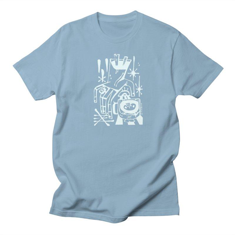 MORNING BREW (wht) Wishbow x Voidmerch Men's Regular T-Shirt by VOID MERCH