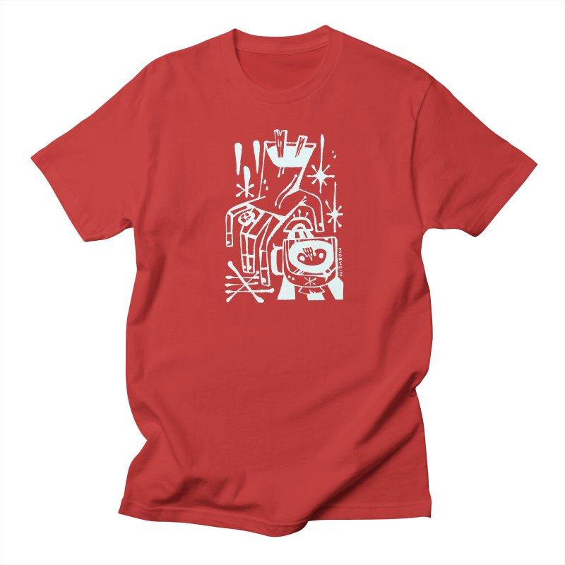 MORNING BREW (wht) Wishbow x Voidmerch Women's Regular Unisex T-Shirt by VOID MERCH