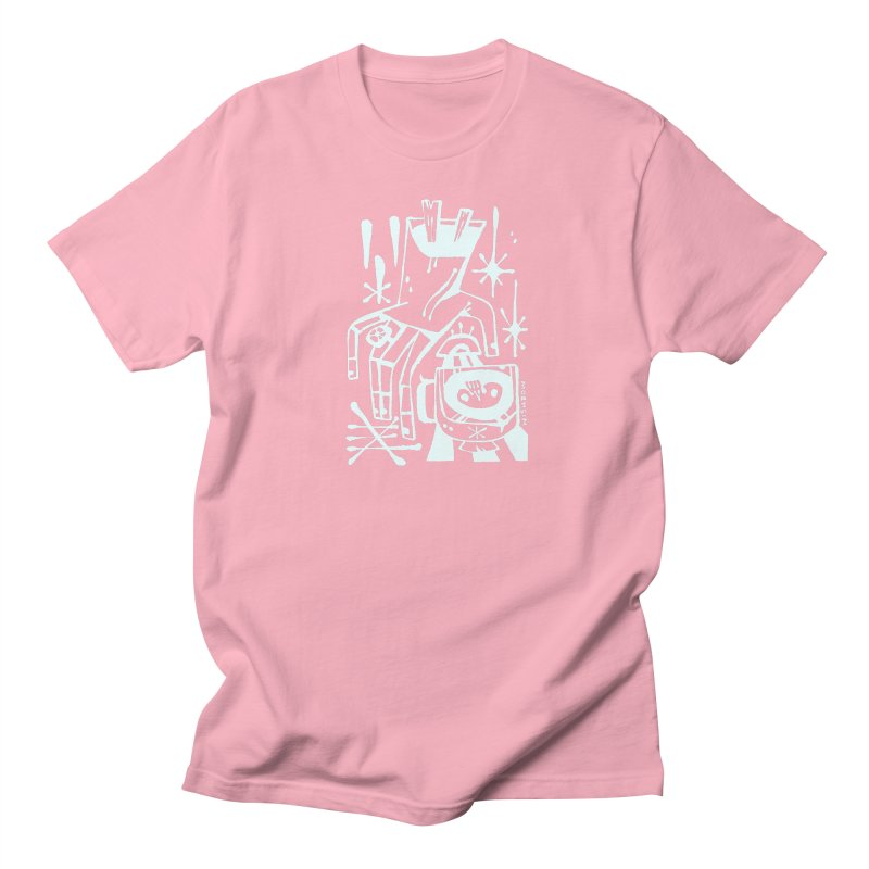 MORNING BREW (wht) Wishbow x Voidmerch Women's Regular Unisex T-Shirt by VOID MERCH